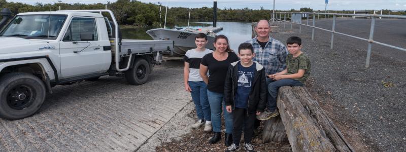 pt wakefield wharf family